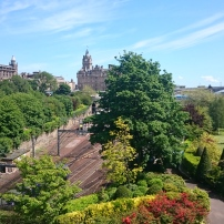 Abundant greenery in Edinburgh, Scotland